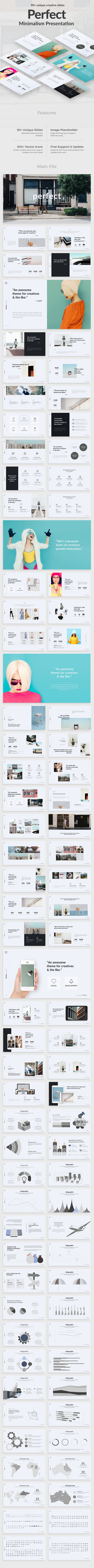 Perfect Project Minimal Powerpoint Template - Creative PowerPoint Templates
