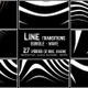 Line Transitions Bundle - Wave 4K - VideoHive Item for Sale