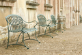 cobbled street seating - PhotoDune Item for Sale