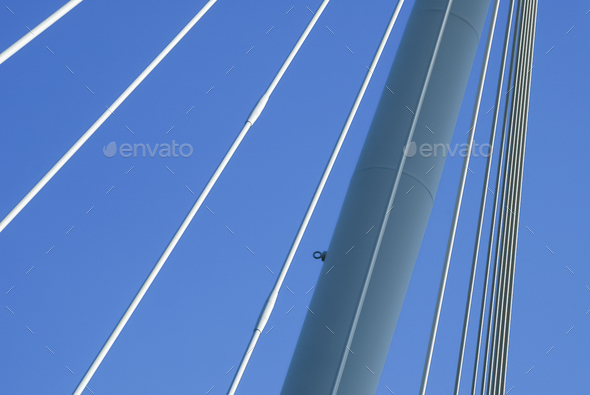suspension cables - Stock Photo - Images