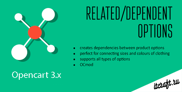 CodeCanyon Dependent Related Product Options Opencart 3.x 20867824