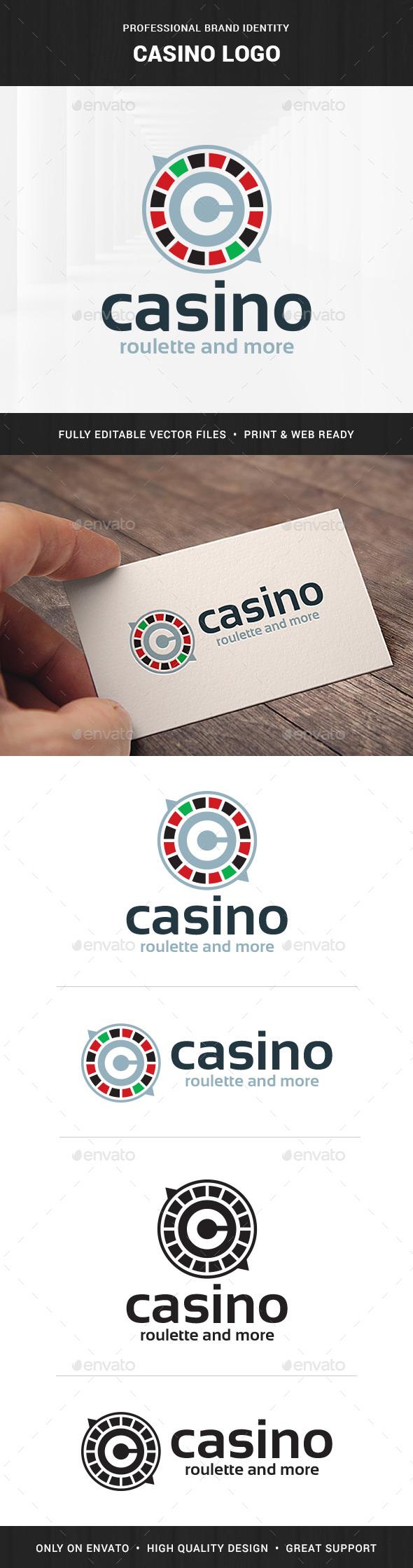 Casino Logo Template - Abstract Logo Templates