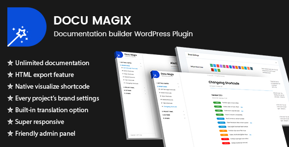 Docu Magix: Documentation Builder WordPress Plugin
