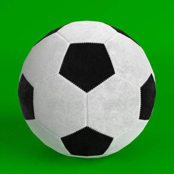 3DOcean Football Soccer Ball 2 20868040