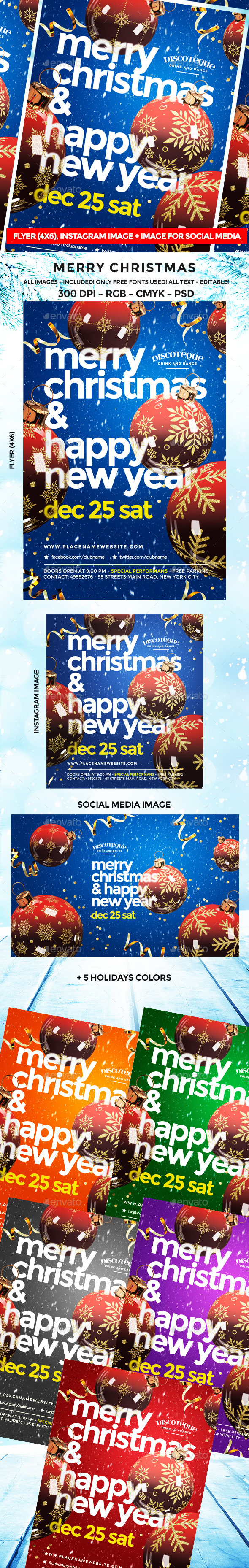 Christmas Flyer - Events Flyers