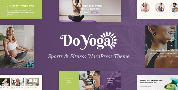Image of Do Yoga - Fitness Studio & Yoga Club WordPress Theme