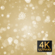 Snow Particles Gold Background - VideoHive Item for Sale