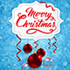 Christmas Banner with Red Baubles - GraphicRiver Item for Sale