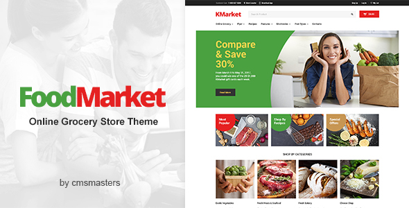 Food Market - Food Shop & Grocery Store WordPress Theme