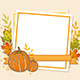 Autumn Frame with Pumpkins - GraphicRiver Item for Sale