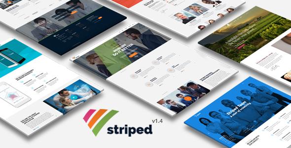 Striped - Multipurpose Business and Corporate Theme - Corporate WordPress