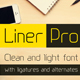 Liner Pro Font - GraphicRiver Item for Sale