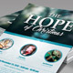 The Hope of Christmas Church Flyer Template - GraphicRiver Item for Sale