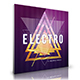 Electro - Digital Release Music Cover Template - GraphicRiver Item for Sale