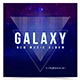 Galaxy - Web Music Cover Template
