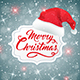 Christmas Background with Hat of Santa Claus - GraphicRiver Item for Sale