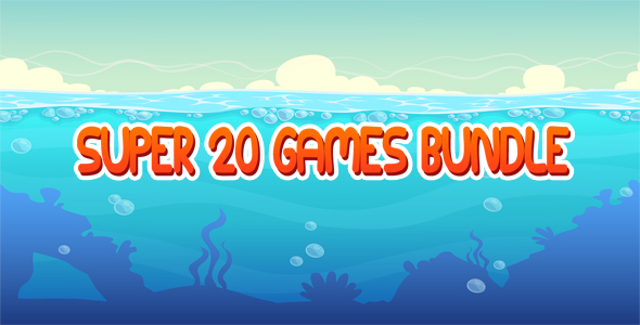 Super 20 Games Bundle - CodeCanyon Item for Sale