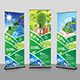 Green Energy Roll-Up Banner