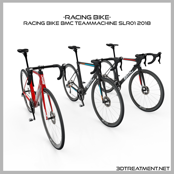 Racing Bike BMC Teammachine SLR01 2018 - 3DOcean Item for Sale