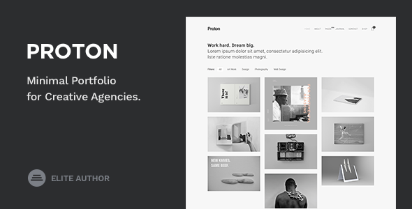 The 15+ Best Minimalist WordPress Themes for [sigma_current_year] 11
