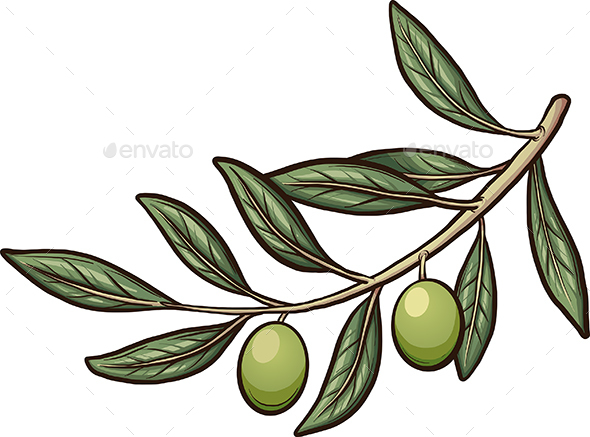 GraphicRiver Olive Branch 20869703