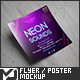 Square Flyer / Poster Mock-Up - GraphicRiver Item for Sale