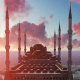 Mosque at Sunset - VideoHive Item for Sale