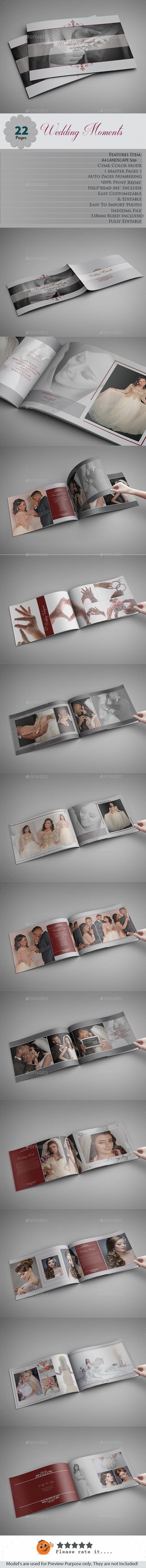 Wedding Moments Photo Albums - Photo Albums Print Templates