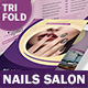Nails Salon Trifold Brochure