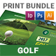 Golf Print Bundle 7