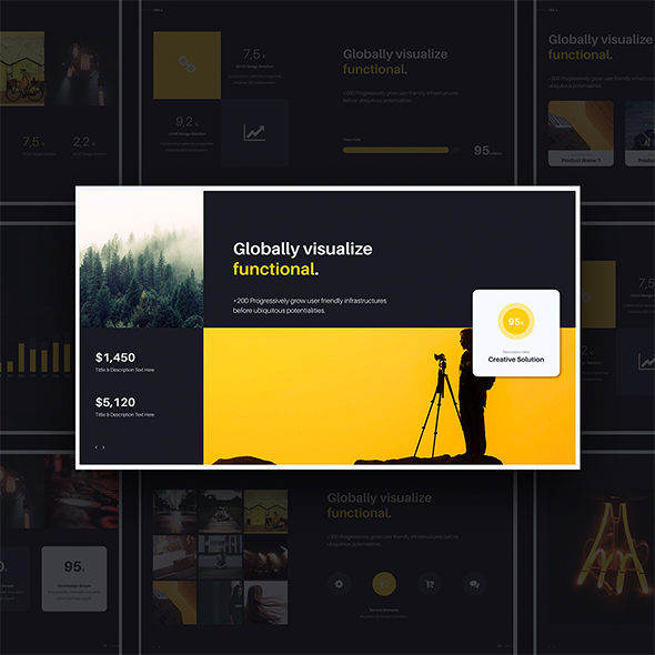 Talk_X Multipurpose & Creative (Powerpoint) - Creative PowerPoint Templates