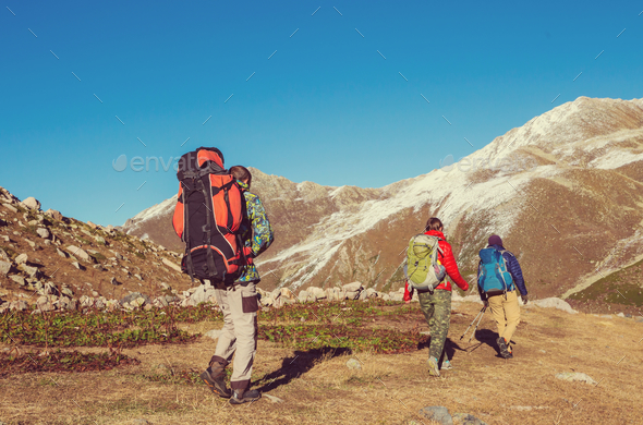 Hike in Kackar - Stock Photo - Images