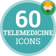 Telemedicine Icons - VideoHive Item for Sale