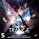 Electronic Trance CD Album Artwork