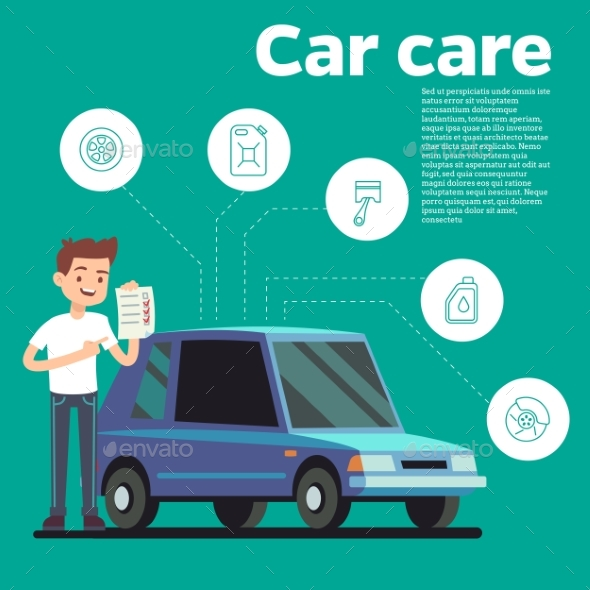 Cars Tips Vector Illustration - Miscellaneous Vectors
