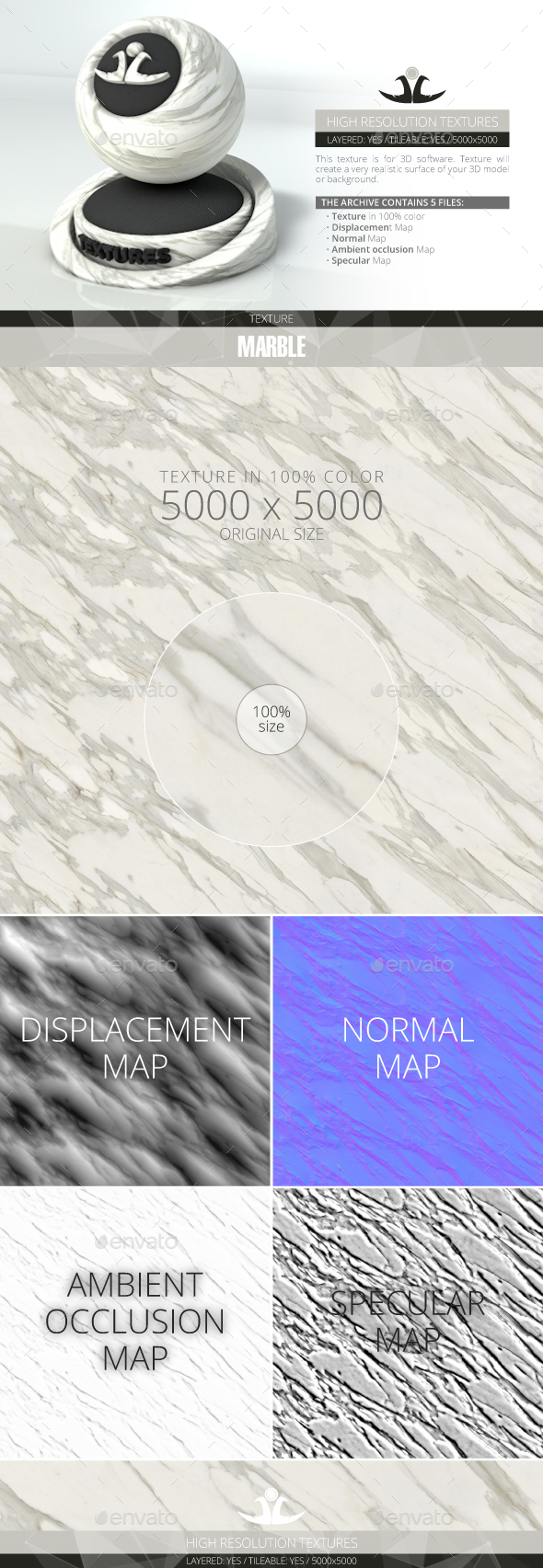 Marble - 3DOcean Item for Sale