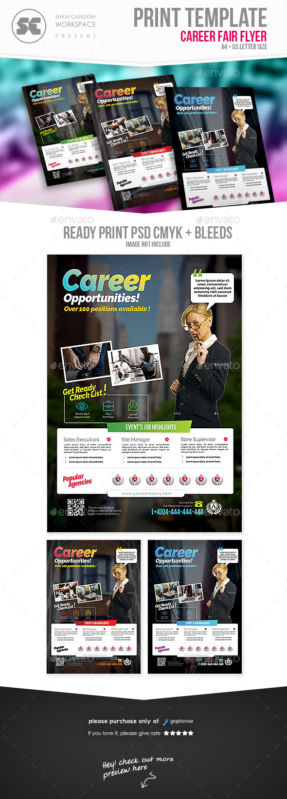 GraphicRiver Career Flyer 20871487