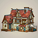 Game Ready Fantasy House - 3DOcean Item for Sale
