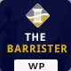 The Barrister – A Law Office WordPress Theme