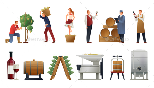 Wine Production Set