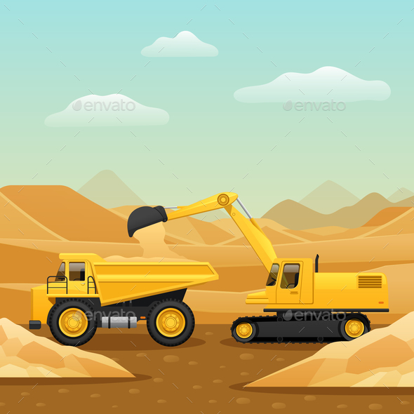 Construction Machinery Composition - Industries Business