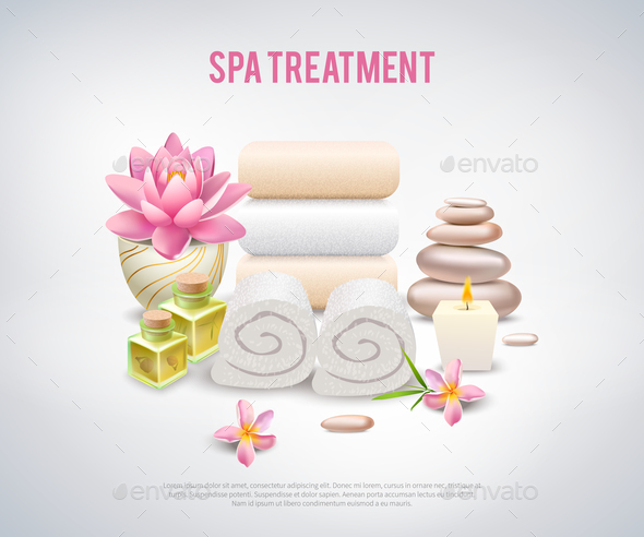 GraphicRiver Spa Treatment White Poster 20872012