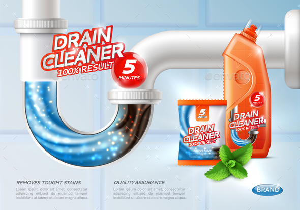 Sanitary Drain Cleaner Poster - Man-made Objects Objects