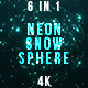 Neon Snow - VideoHive Item for Sale