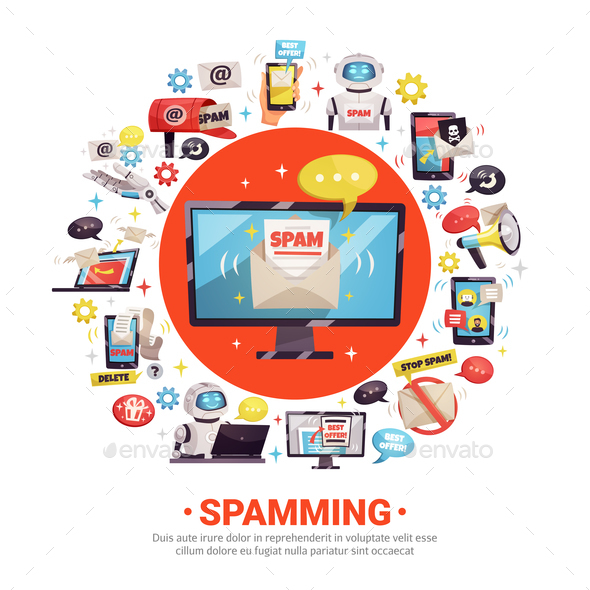 GraphicRiver Spamming Design Concept 20872077