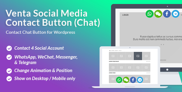 Download Source code              Venta Social Media Contact Button            nulled nulled version