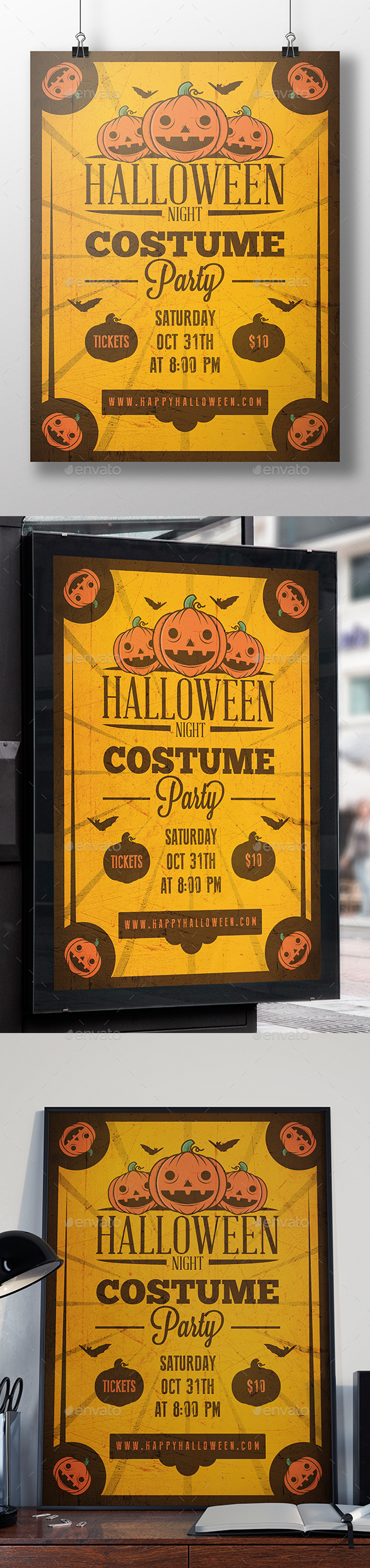 Happy Halloween Flyer Template - Holidays Events