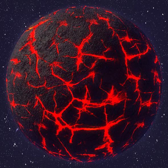 Nibiru Planet - 3DOcean Item for Sale