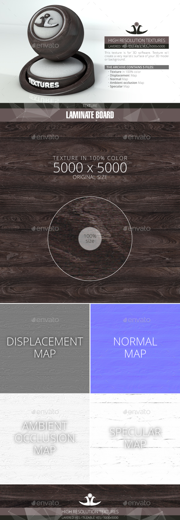 Laminate Board 8 - 3DOcean Item for Sale