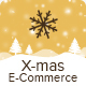 X-mas E-commerce - Christmas Shopping Offer Email Template PSD - GraphicRiver Item for Sale